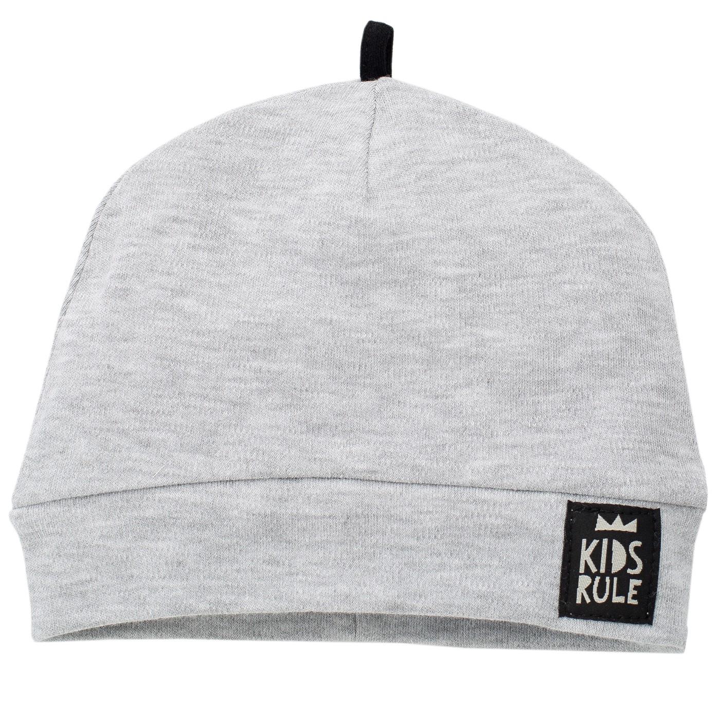 сива шапка комплект бебешки дрешки