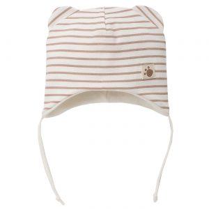 шапка с ушички и райе