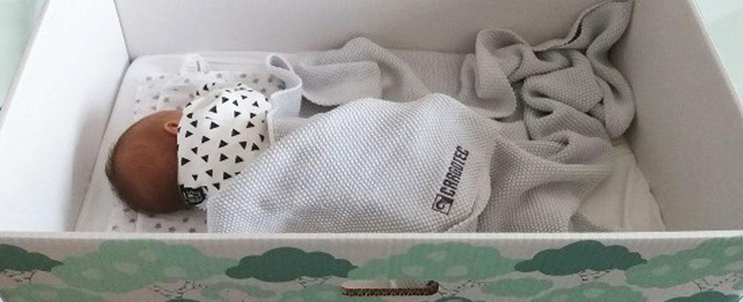 Финландска компания + финландска кутия = Страхотен подарък за бебе!