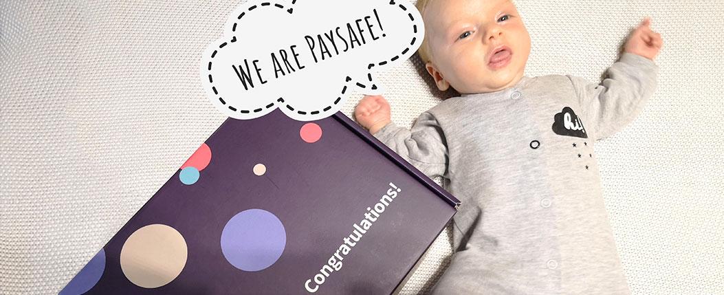 Специален подарък за бебоците в Paysafe